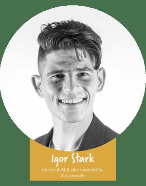 Igor name badge