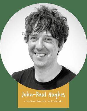 John paul name badge 2