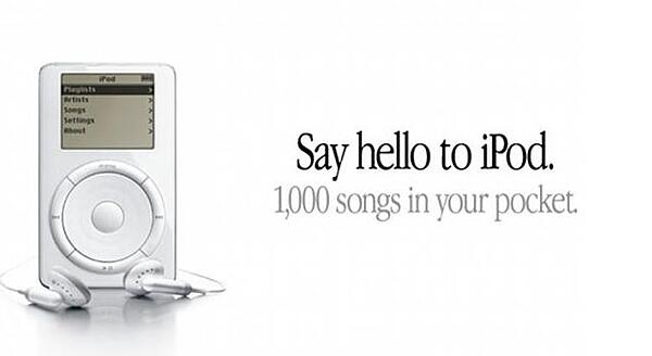 ipod 1000 songs in your pocket